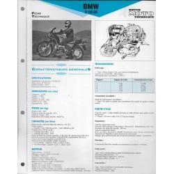 BMW R 100 G/S de 1991 Fiche RMT