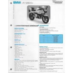 BMW R 1200 S de 2005 Fiche RMT