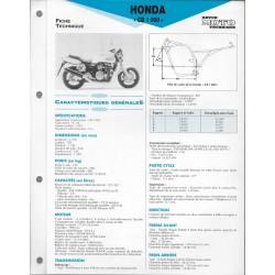 HONDA CB 1000 de 1993 (Fiche RMT)