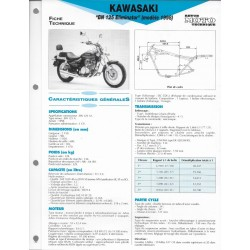 KAWASAKI BN 125 Eliminator de 1998 (Fiche RMT)