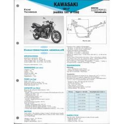 KAWASAKI ER-5 de 1997 et 1998 (Fiche RMT)