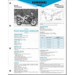 KAWASAKI ZX-9R de 1994 à 1997 (Fiche RMT)
