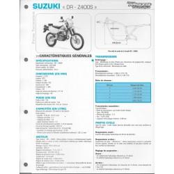 SUZUKI DR-Z400S de 2002 (Fiche RMT)