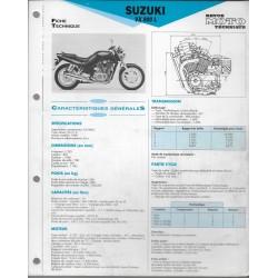 SUZUKI VX 800 L de 1990 (Fiche RMT)
