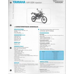 YAMAHA WR 125 R injection de 2009 (Fiche RMT)