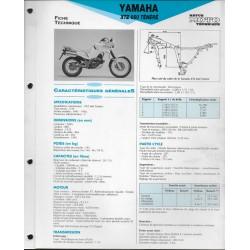 YAMAHA XTZ 660 de 1991 / 1992 (Fiche RMT)