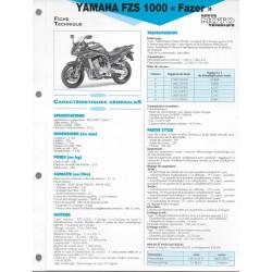 YAMAHA FZS 1000 Fazer de 2001 (Fiche RMT)