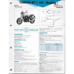 YAMAHA BT 1100 Bulldog de 2002 (Fiche RMT)