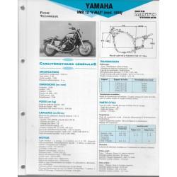 YAMAHA VMX 12 V-MAX de 1990 (Fiche RMT)