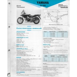 YAMAHA FJ 1200 de 1992 (Fiche RMT)