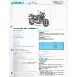 YAMAHA XJR 1300 (W) de 2007 (Fiche RMT)