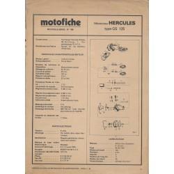 HERCULES GS 125 de 1978 et plus