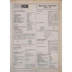 MONTESA COTA 247 de 1974 et plus