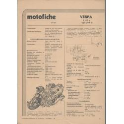 VESPA P 125 X type VNX 1 de 1979 et plus