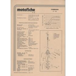 YAMAHA XT 125 de 1982 et plus