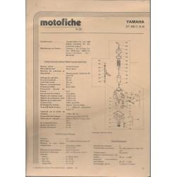 YAMAHA type RD 200-DX de 1976 et plus