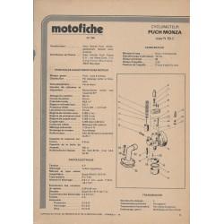 PUCH MONZA type N 50 C de 1978 et plus