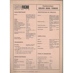 SOLEX 8000 TENOR de 1973 et plus