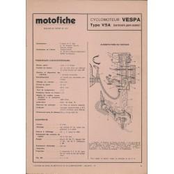 VESPA type V 5 A de 1974 et plus