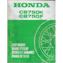 HONDA CB 750 K et F (Manuel de base novembre 1981)