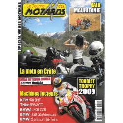 Le Journal des MOTARDS n° 59 (octobre/ novembre 2009)