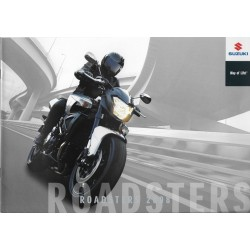 SUZUKI Catalogue Gamme Roadsters de 2008