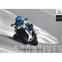 SUZUKI Catalogue Gamme Sportives de 2008