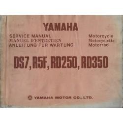 YAMAHA RD 250 / 350 1973