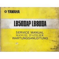 YAMAHA LB50IIAP / LB80IIA (manuel atelier) Type 550