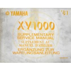 YAMAHA XV 1000 (manuel atelier 05 / 1981) type 5A8