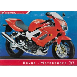 Catalogue Gamme HONDA de 1997 (en allemand)