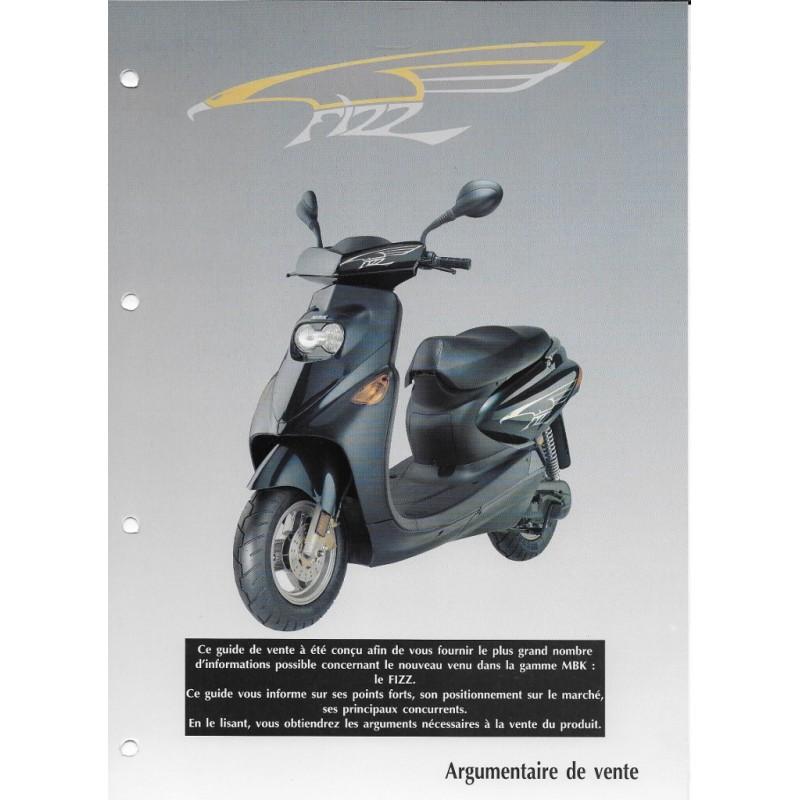 guide de vente mbk fizz 50 cc de 1994 la librairie du motard. Black Bedroom Furniture Sets. Home Design Ideas