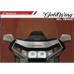 Prospectus HONDA GL 1500 GOLD WING (F)
