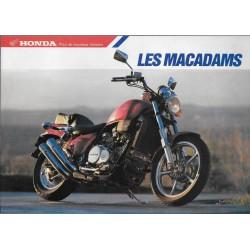 "Catalogue HONDA ""Les Macadams"" (04 / 1987)"