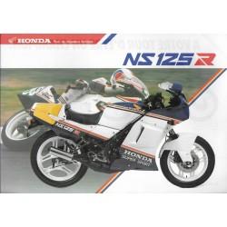 Prospectus HONDA NSR 125 R (03 / 1987)