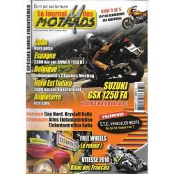 Le Journal des MOTARDS n° 66 (août12 / 2010 - 01 / 2011)