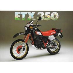 Prospectus original APRILIA 350 ETX