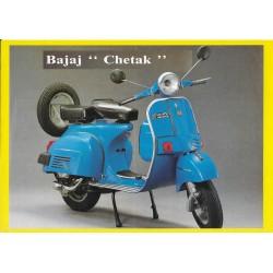 "BAJAJ Prospectus original ""CHETAK"" 125 cc / 150 cc"