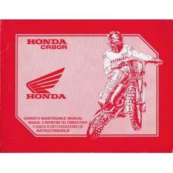 HONDA CR 80 R Type GS2 de 1991