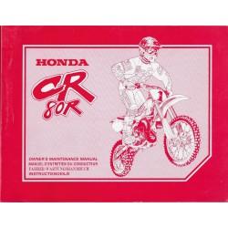 HONDA CR 80 R Type GBF de 1996