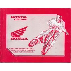HONDA CR 125 R 1997 type KZ4