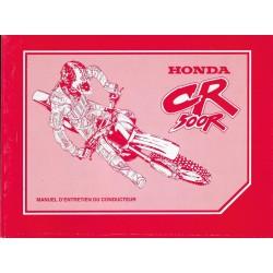 HONDA CR 500 R 1998 (manuel de base) Type MAC (07/92)
