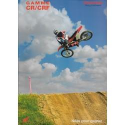 Catalogue original HONDA gamme CR / CRF de 2007