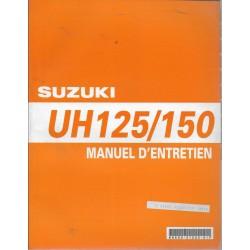Manuel atelier SUZUKI UH 125 K2 / UH 150 K2 de 2002