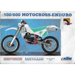 KTM 500 / 600 Motocross - Enduro LC4 (10 / 1990)