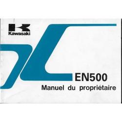 KAWASAKI EN 500 -B1 de 1994 (11 / 1993) en français
