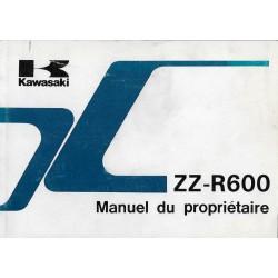KAWASAKI ZZ-R 600 D1 de 1990 (04 / 1900) en français