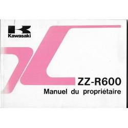 KAWASAKI ZZ-R 600 E1 de 1993 (02 / 1993) en français