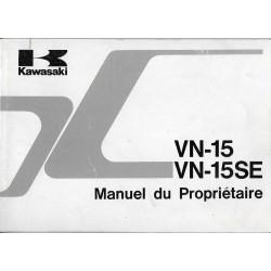 KAWASAKI VN-15 et VN-15 SE (11 / 1989) en français