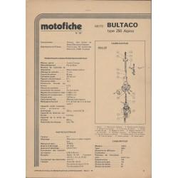 BULTACO ALPINA 250 de 1977 et plus